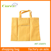 Super Market And Folding Promotional Eco Friendly Tote Shopping Bag