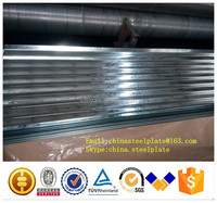 roofing material-Galvanised corrugated roofing sheet/zinc coating 60-120g