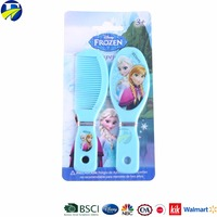 FJ hair accessories supplier of High quality 2PC Baby Hair brush set,hair brush and comb sets