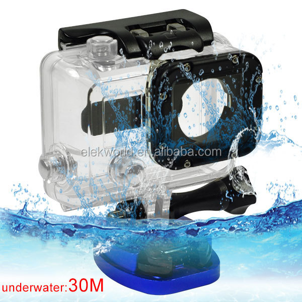 Gopros Dome 30m Waterproof Housing Case for GoPros He ro 4/3+ gopros dome edition