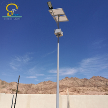 Exported to Iran, solar street lighting with pole 45w and 60w Super Bright Solar LED Street light,5 years warranty