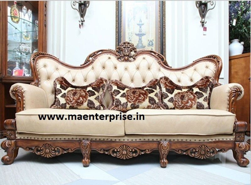 Antique wooden sofa designs furniture