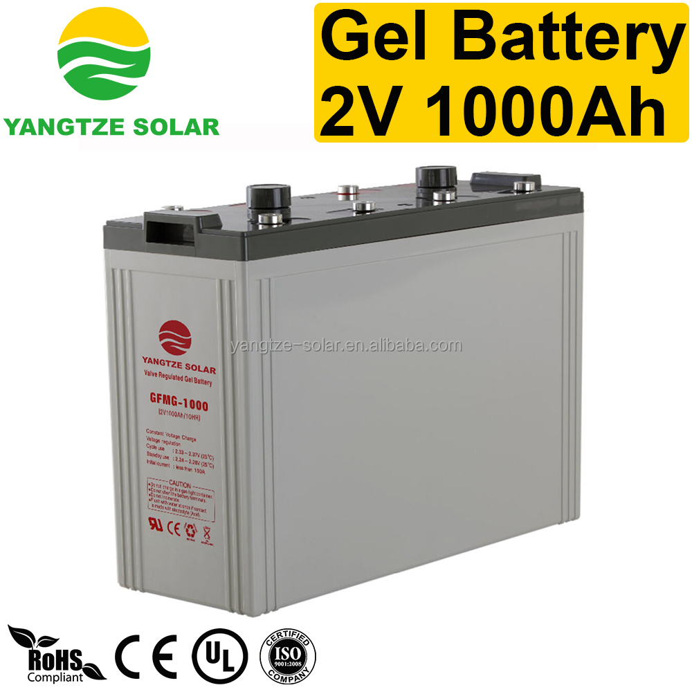Top standard 2 volt deep cycle solar batteries