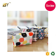Sedex audit factory Custom PU promotion cosmetic pouch bag/ toiletry pouch/ makeup bag