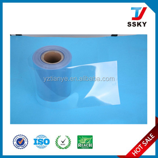 Clear Plastic Sheet PVC Rigid Film 0.5mm Thick Price For Vacuum Forming