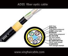 ADSS optic fiber cable network