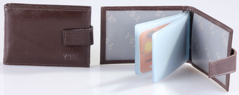 Genuine Leather Card Case Model No : CCYAT-2
