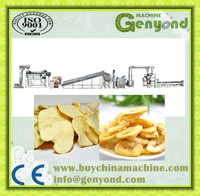 Stainless steel full automatic banana chips production line potato chips french fries production line