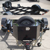 Small Camper Trailer for Motorcycle with OEM Service
