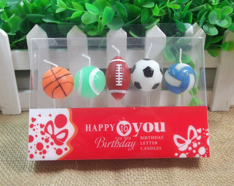 Professional Candles Factory 2020 New Design Burning Candle Shape Birthday Cake Decoration Candles Set For Party