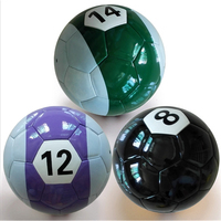 Billiard soccer ball durable snooker soccer ball series no 1 to 15 for campaign