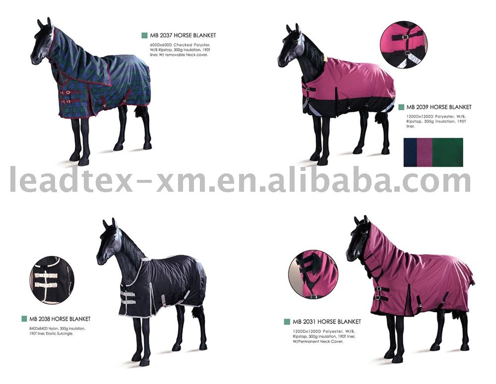 Waterproo and Breathable Horse Rugs Horse Blankets