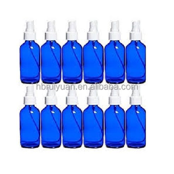 5ml 10ml 15ml 30ml 50ml 100ml 1 oz 2 oz cobalt blue glass fine mist spray bottle with fine mist sprayer
