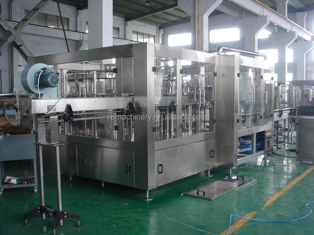 DCGF40-40-12 Automatic Carbonated Drink Filling Machine / CSD Filling Machine / Soft Drink Plant