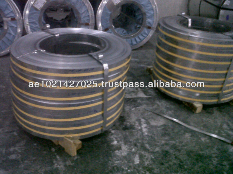 Hot Dip Galvanized (HDG) Slit Coil Ready Stock in Doha Qatar