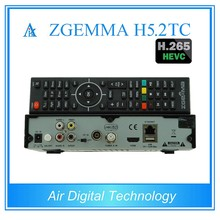 Powerful Functions ZGEMMA H5.2TC FTA Linux OS E2 Sateliite/Cable Receiver DVB-S2+2*DVB-T2/C Dual Tuners