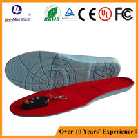 Wholesale factory thermal footwear inserts rechargeable battery inner sole