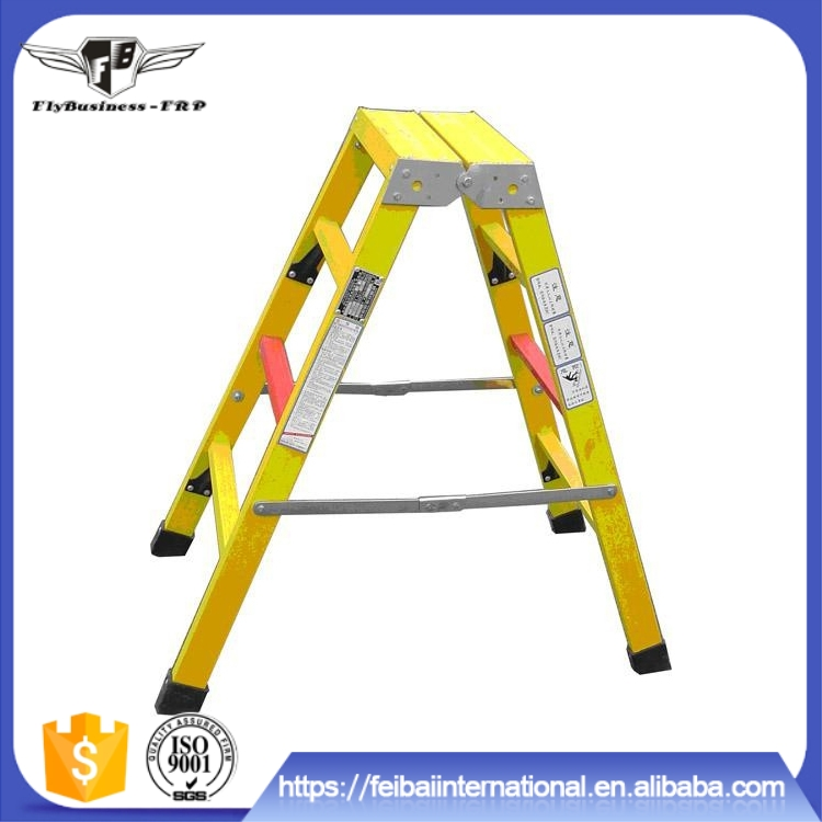 hot sale good safety house hold use multi purpose grp step ladder with platform