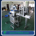 Capping machine with bottle cap sorter machine