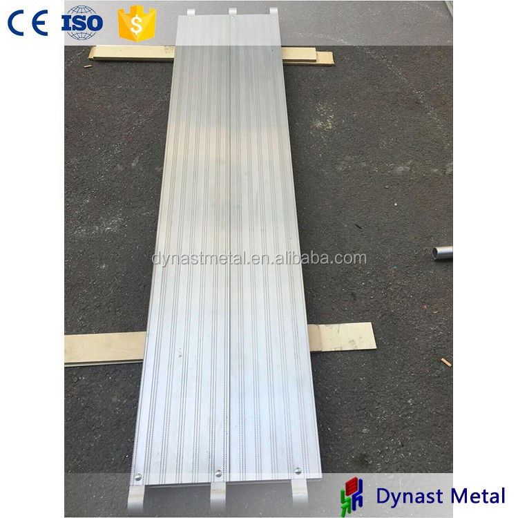 Hot sale for work platform Made in China Wuxi manufacturer For America Market All Aluminum scaffolding Plank