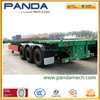 Pandamech 3Axle 20ft or 40ft Skeleton Semi Trailer,Skeletal Container Semitrailer,Skeleton Container Chassis
