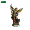 High quality resin religious famous Archangel Michael statue