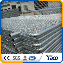 Easy installation Hot dip galvanized Chain link fence panel