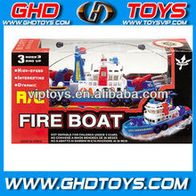High-speed 4ch remote control fire boat rc model boat toys