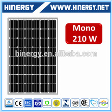 mono 210wp solar panel 210wp 210 w 210 watts pv panels price china manufacturer 210w solar panel in with CE certificate