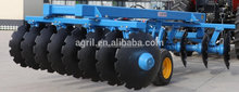 top quality farm tractor use high working efficiency heavy duty hydraulic operating offset disk harrow with wheels