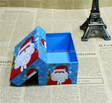 wholesale Custom decorative paper christmas box / Christmas gift box with lids