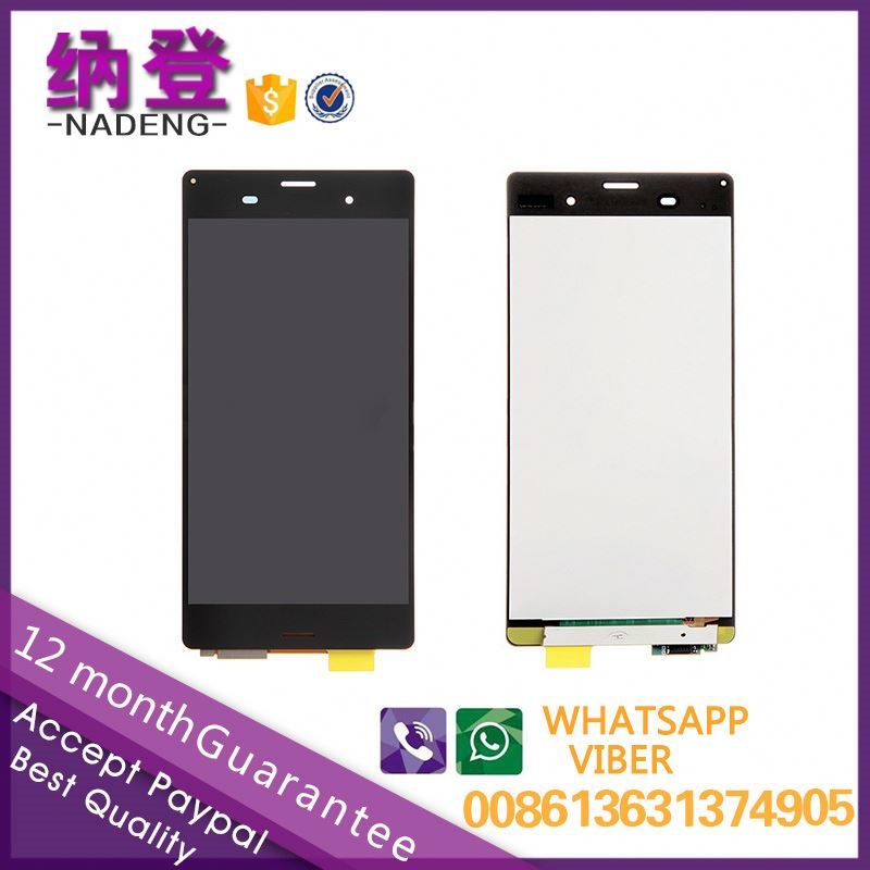 2017 hot sale lcd with digitizer for Sony xperia Z3 lcd display digitizer assembly in alibaba