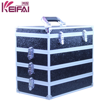 Professional Hardshell Exquisite Workmanship Hair Stylist Tool Case With Drawers