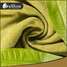 Factory supply fashion colorful flax linen fabric for livingroom curtain