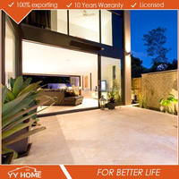 Modern house luxury design AS standard aluminium profile heavy duty glass sliding door for Australian market