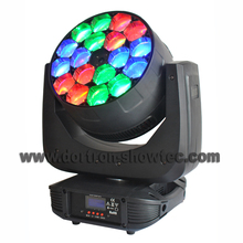 led wash moving head zoom 18X15W rgbw 4in1