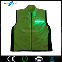 Flash LED Mens Sport Coats, EN20471
