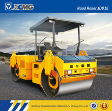 XCMG XD81E 8ton vibratory road roller with good price