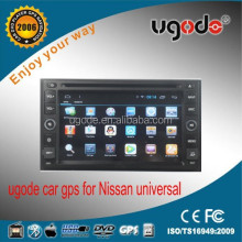 HD 2 din car dvd with capacitive touch screen for frontier Patrol
