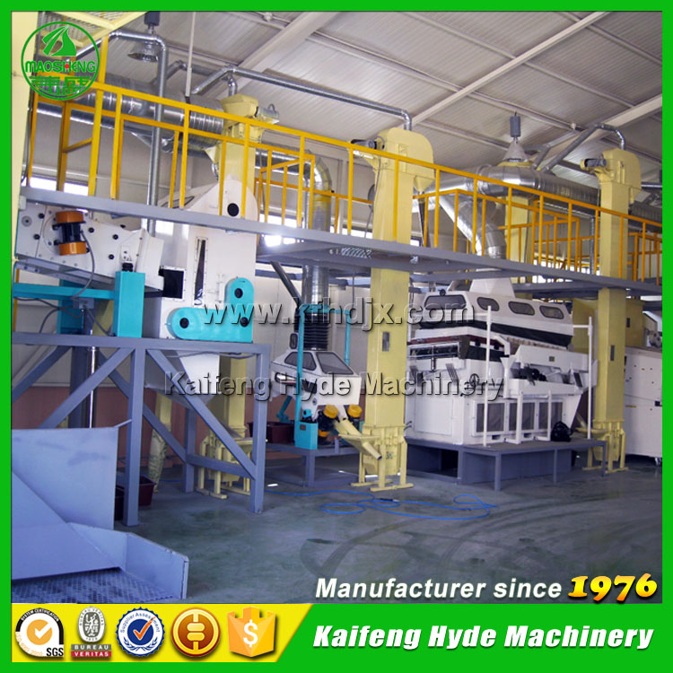 NFAC 3T Automatic soya bean processing equipment plant