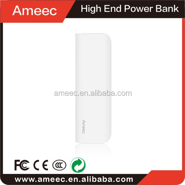 hot new products for 2014 from China Ameec unique and fashion design manufacture Best Quality usb power bank,6000mah power bank