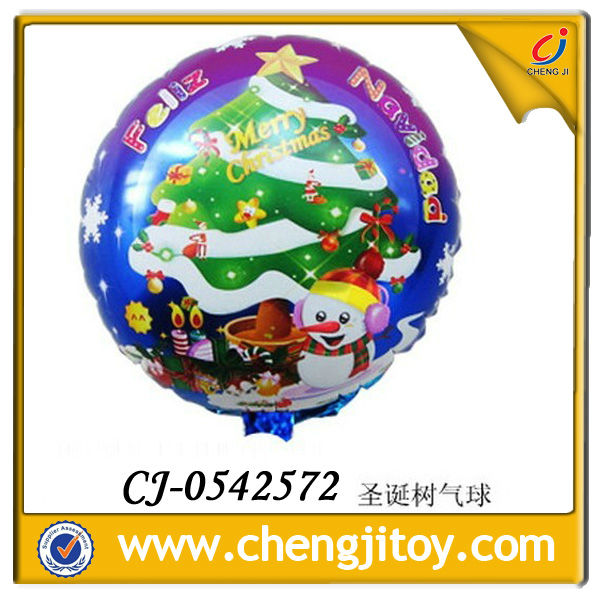 Chrismas tree hydrogen balloon