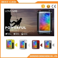 Most popular love mei aluminum waterproof case for xiaomi max