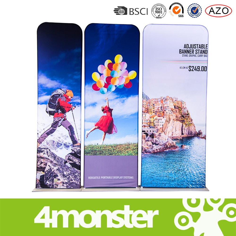 Hot sale EZ TUBE BANNER STANDS/acrylic rotating shot glass display stand