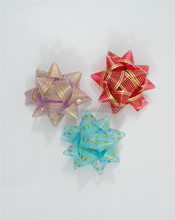 manufacture plastic ribbon star bow