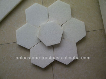 Vietnam grey white natural marble tiles, cut to size, cheap price