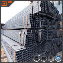 50x50mm square steel pipe,competitive price ms fence panels square tube,square/rectangular black pipe