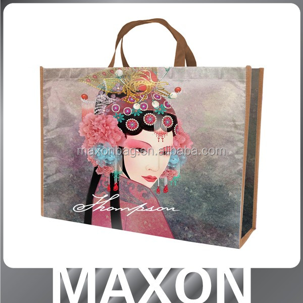 high quality low price tote shopping bag customize size pp non woven bag manufacturers
