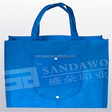 Distributor Printed folding shopping bag