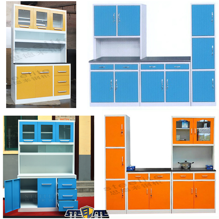 European Style Backsplash Metal Kitchen Cabinet Whole Kitchen Cabinet Set